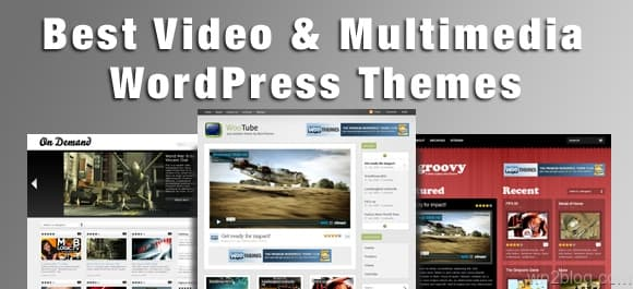 video and multimedia wordpress themes