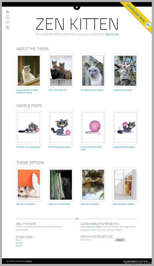 Zen Kitten Premium WordPress Theme