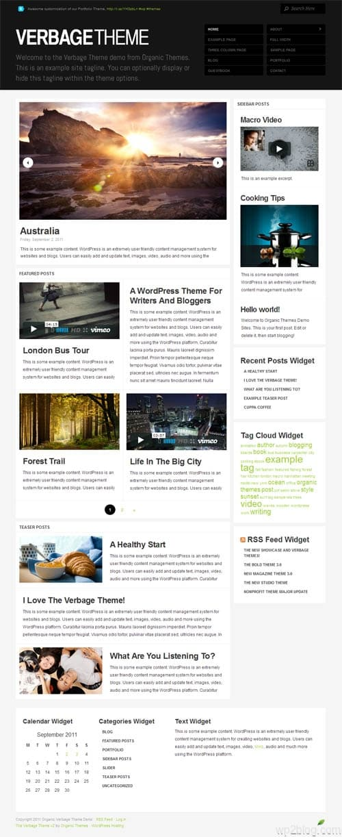 Verbage 2.0 Premium WordPress Theme