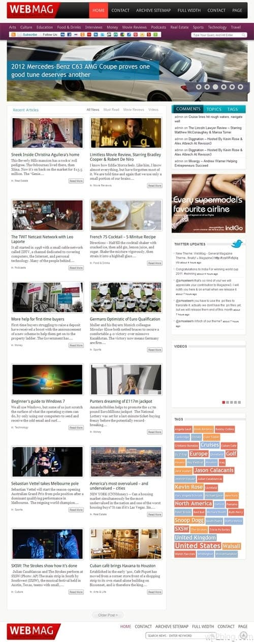 Web Mag Premium WordPress Theme