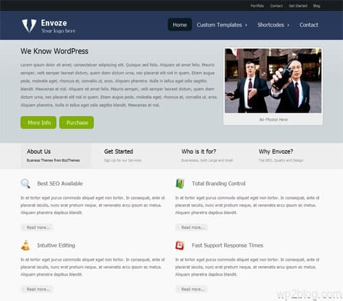 envoze wordpress theme
