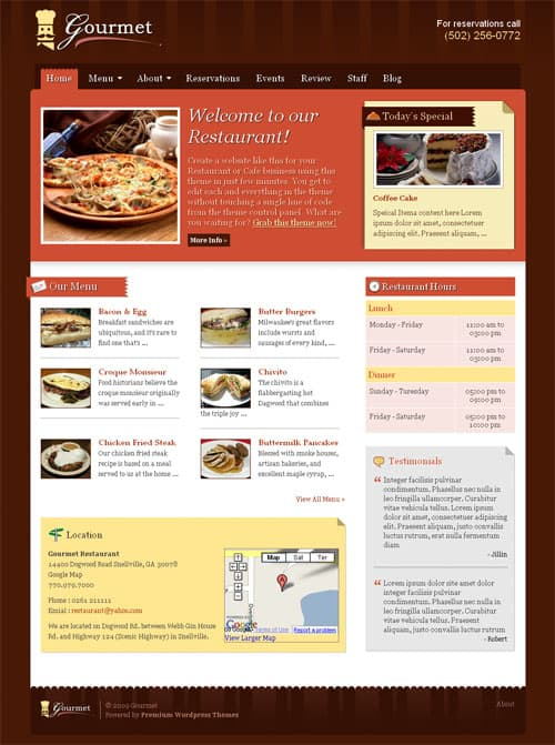 gourmet-wordpress-theme