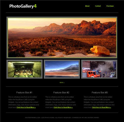 Photo Gallery 4 Theme