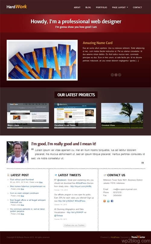 headwork wordpress theme