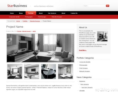 Star Business WordPress Theme