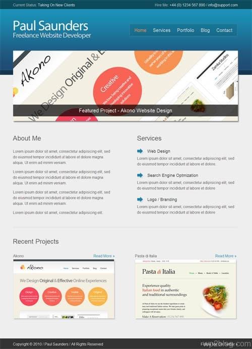Hasani Business Portfolio WordPress Theme