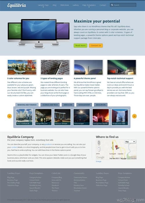 Equilibria Premium WordPress Theme