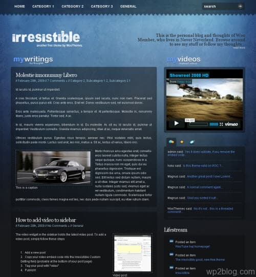 irresistable-theme