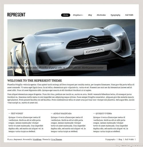 Represent Business WordPress Theme