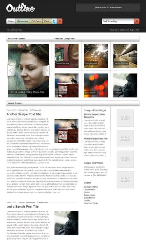 outline-wordpress-theme