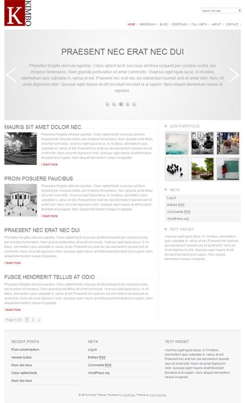 kimbo-wordpress-theme