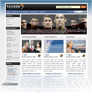 Tauren WordPress Theme