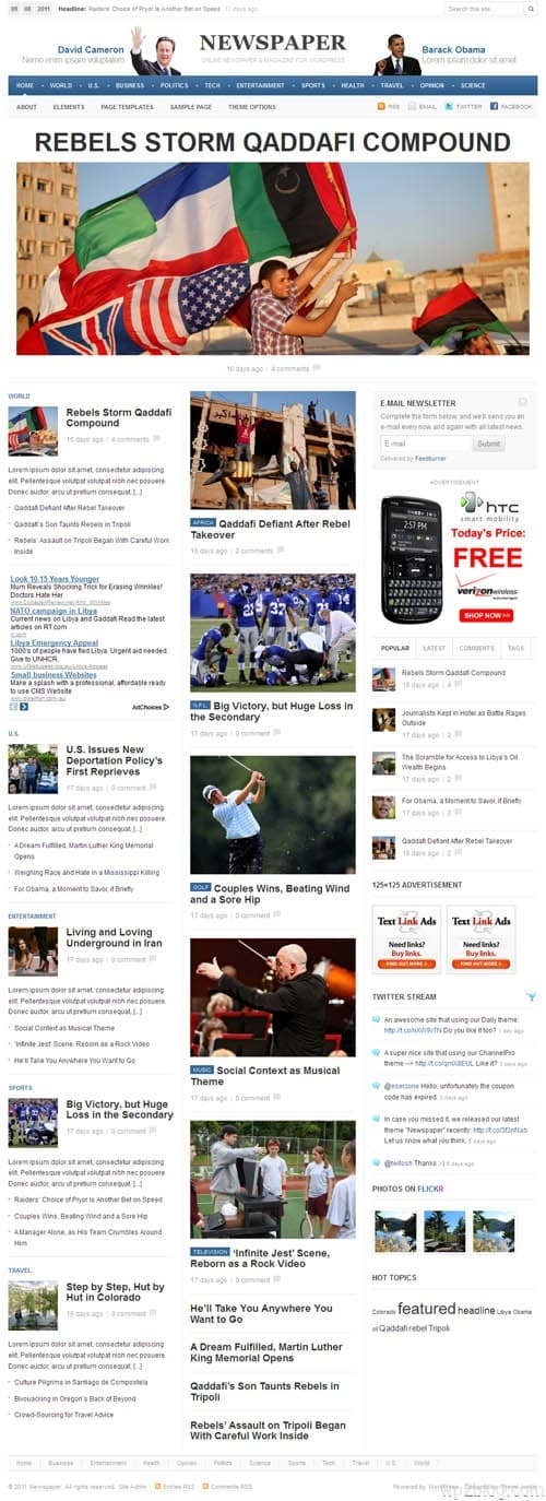 Newspaper 1.0 Premium WordPress Theme