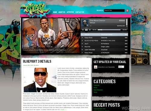 Tribal WordPress Theme