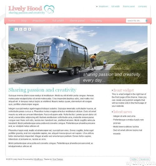 Lively Hood Premium WordPress Theme