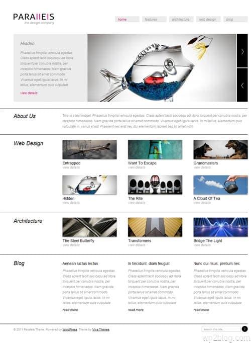 Parallels WordPress Theme