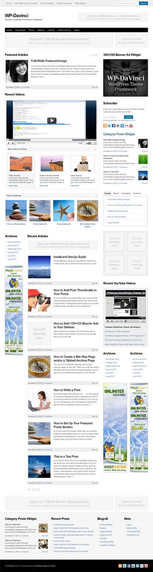 wp-davinci-wordpress-theme