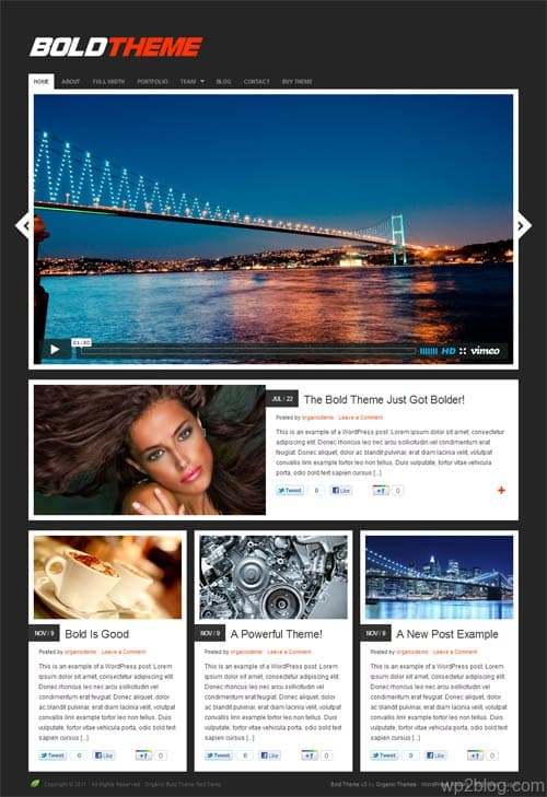 Bold Video Premium WordPress Theme 3.0