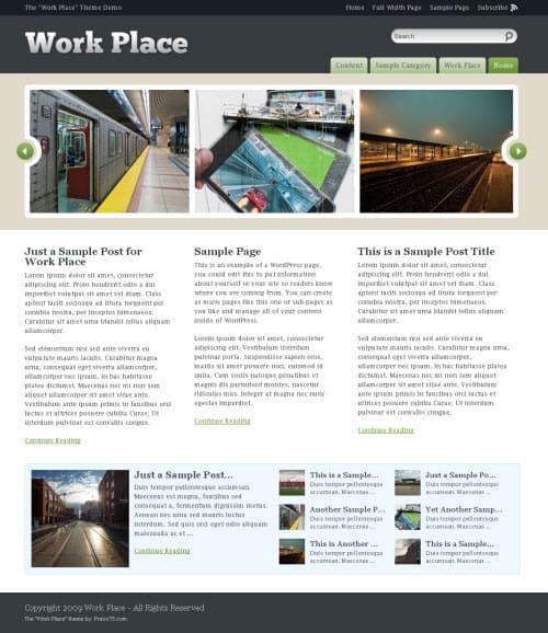 work-place-wordpress-theme