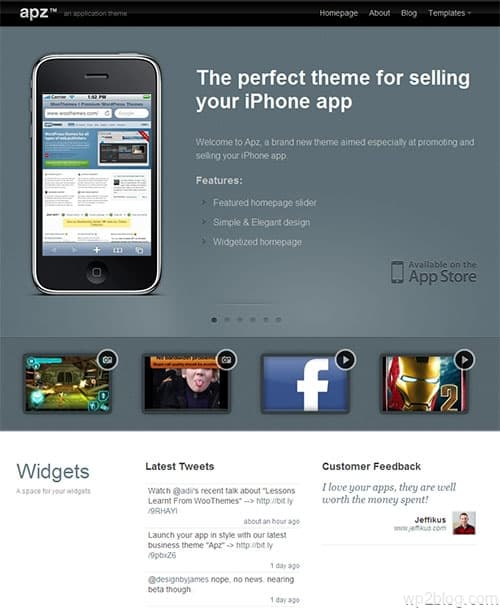 apz wordpress theme