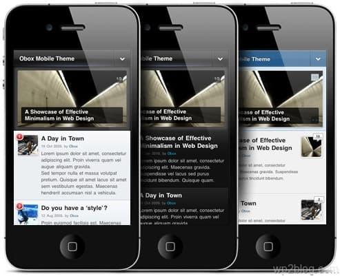 obox mobile theme framework