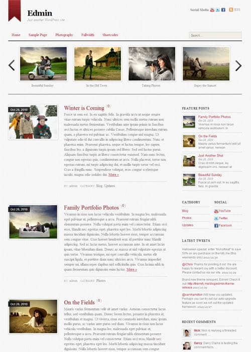 edmin-wordpress-theme