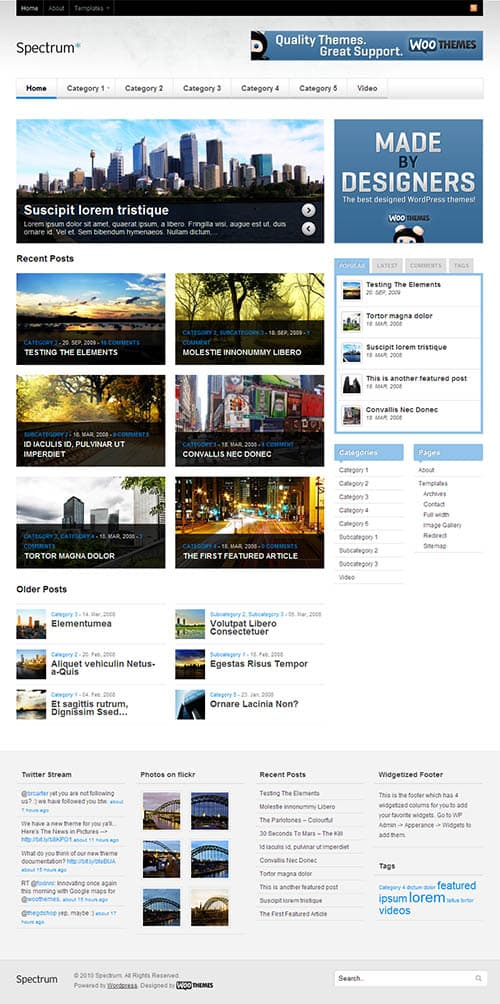 spectrum-wordpress-theme