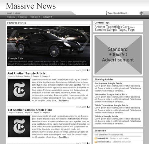 Massive News Theme