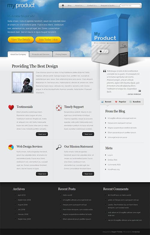 myproduct-wordpress-theme