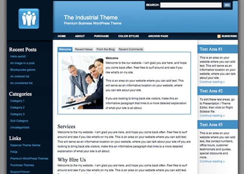 Industrial Business Theme