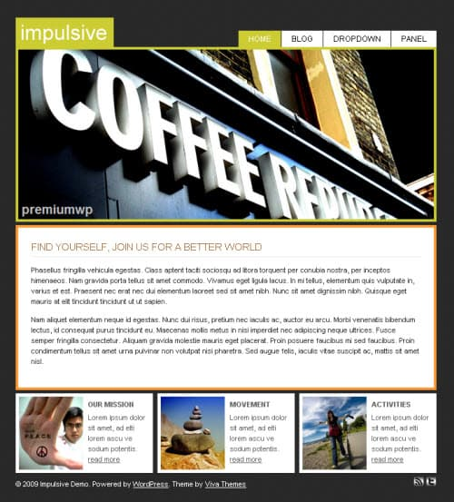 impulsive-wordpress-theme