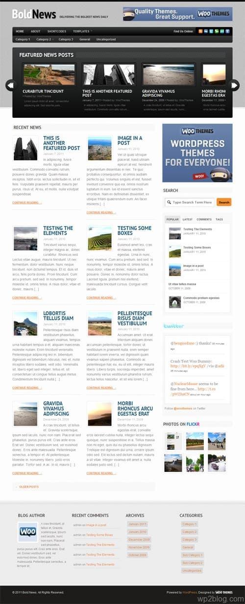 Bold News Premium WordPress Theme