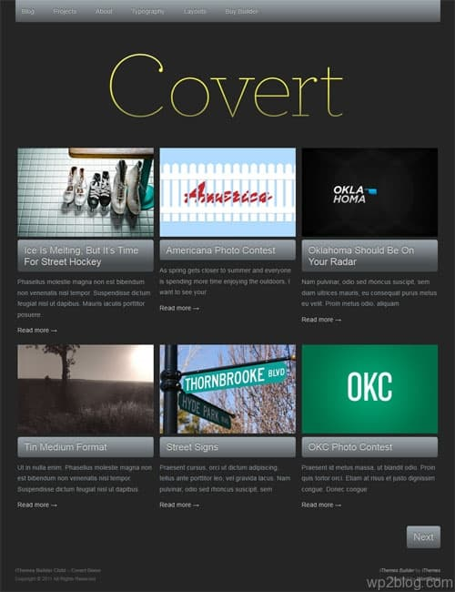 Covert Premium WordPress Theme