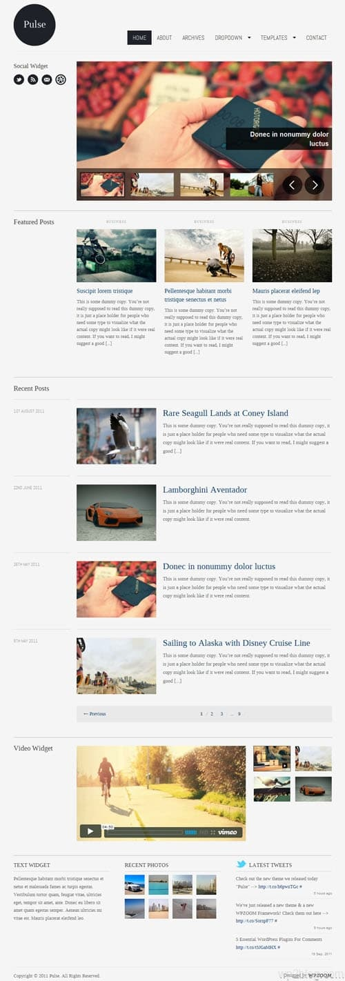 Pulse Premium WordPress Theme