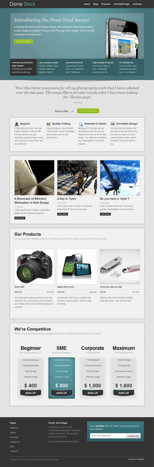donedeal wordpress theme