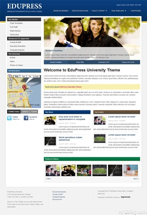 edupress wordpress theme