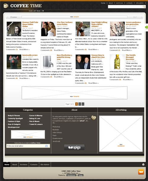 Coffee Time WordPress Theme