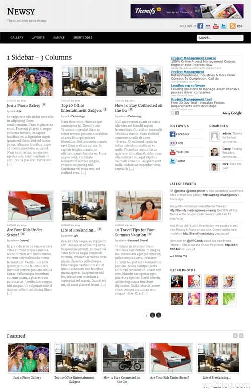 newsy wordpress premium theme