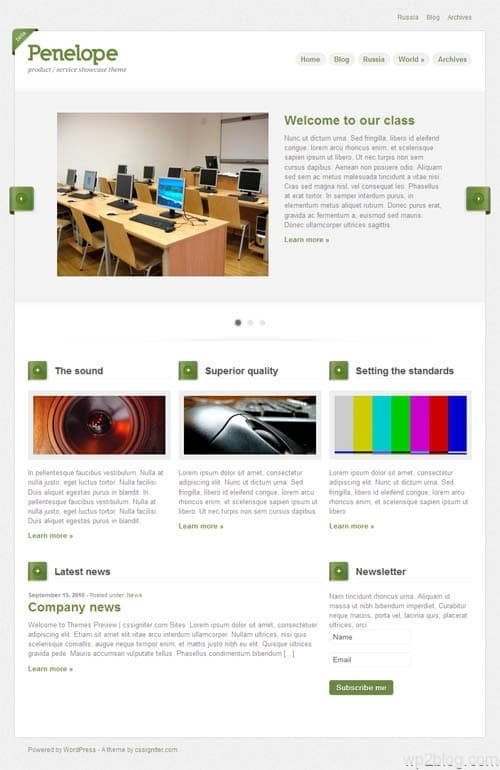 penelope-wordpress-theme