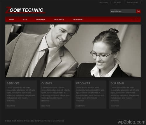 Zoom Technic WordPress Theme