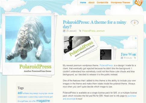 PolaroidPress Theme