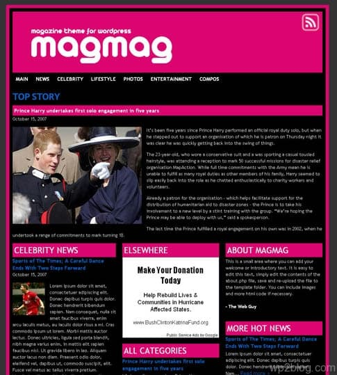 MagMag Theme