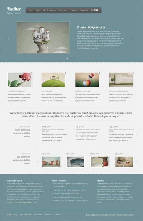 feather-wordpress-theme
