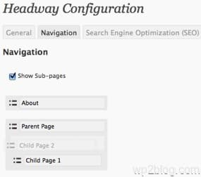 headway navigation