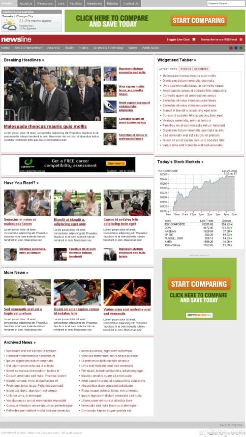 newsline wordpress theme