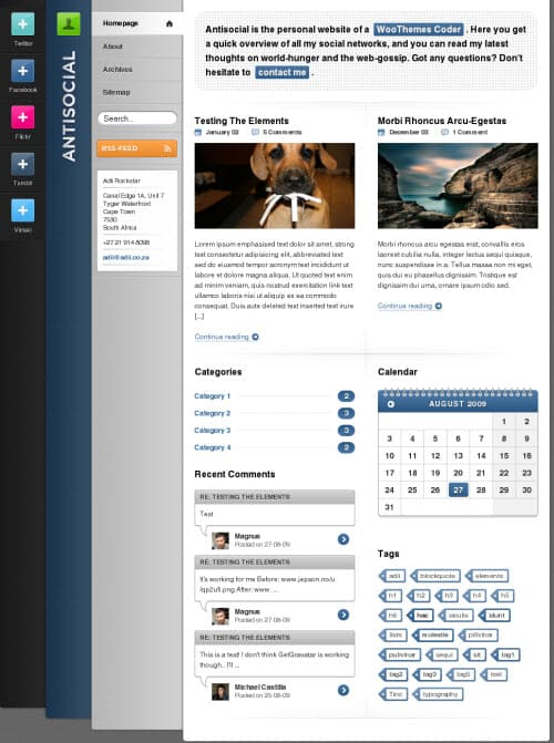 antisocial-wordpress-theme