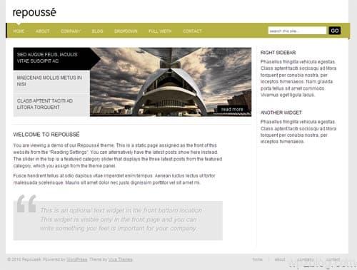 Repousse Business Premium WordPress Theme