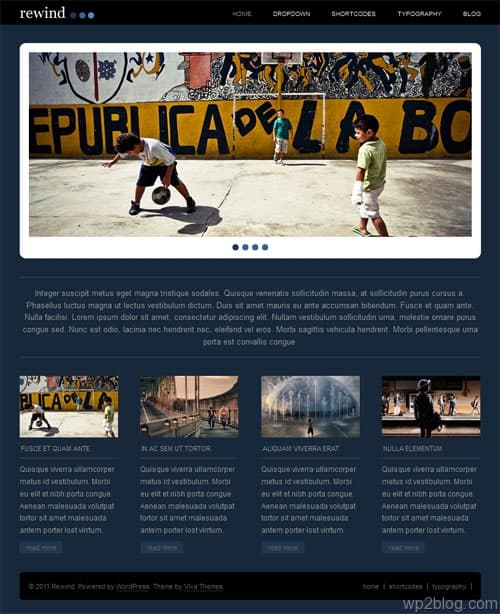 Rewind Premium WordPress Theme