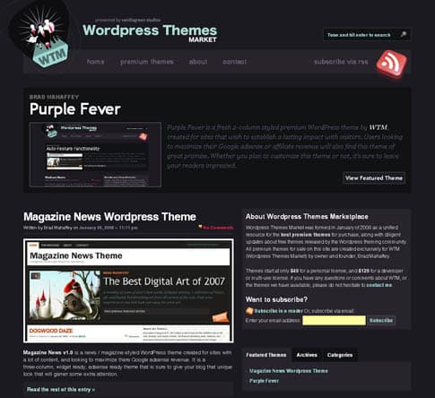 Purple Fever Theme