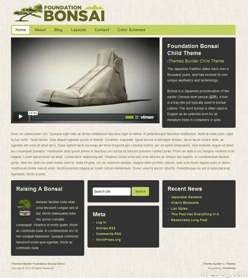 foundation bonzi wordpress theme